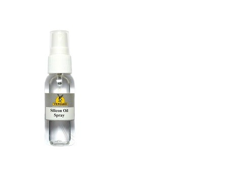 Silicone oil spray