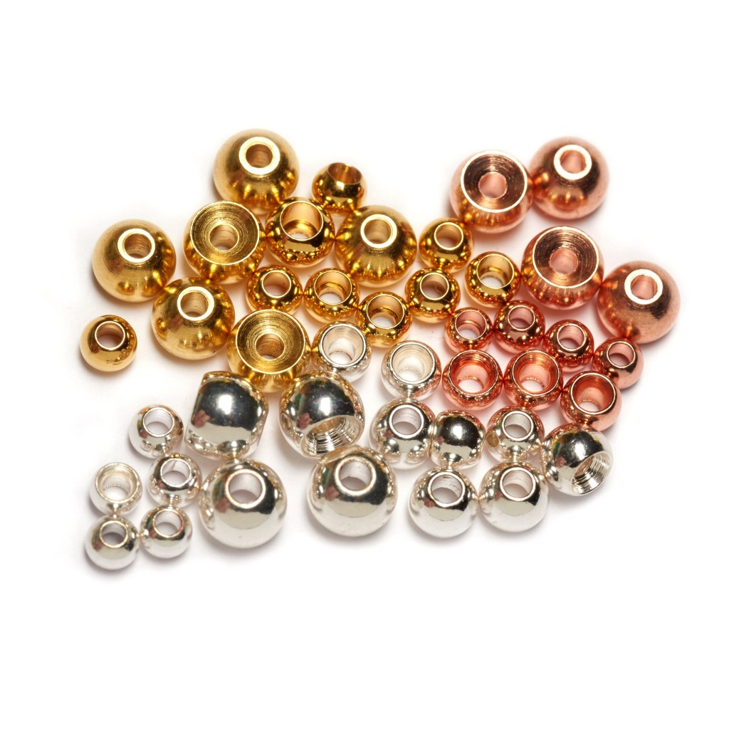 Copper Beads (Copper Plated Brass Beads)