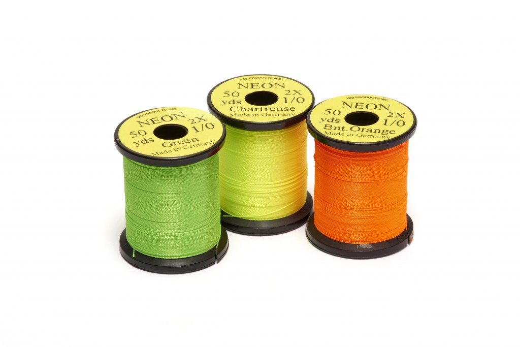 UNI Neon Fluo thread 1/0 50yd